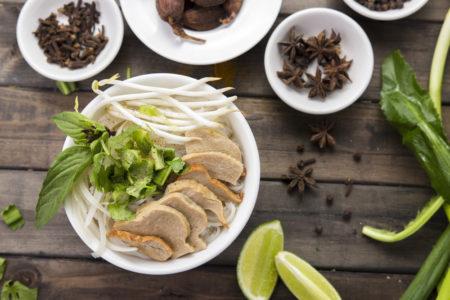 Pho Noodle Soup at Au Lạc