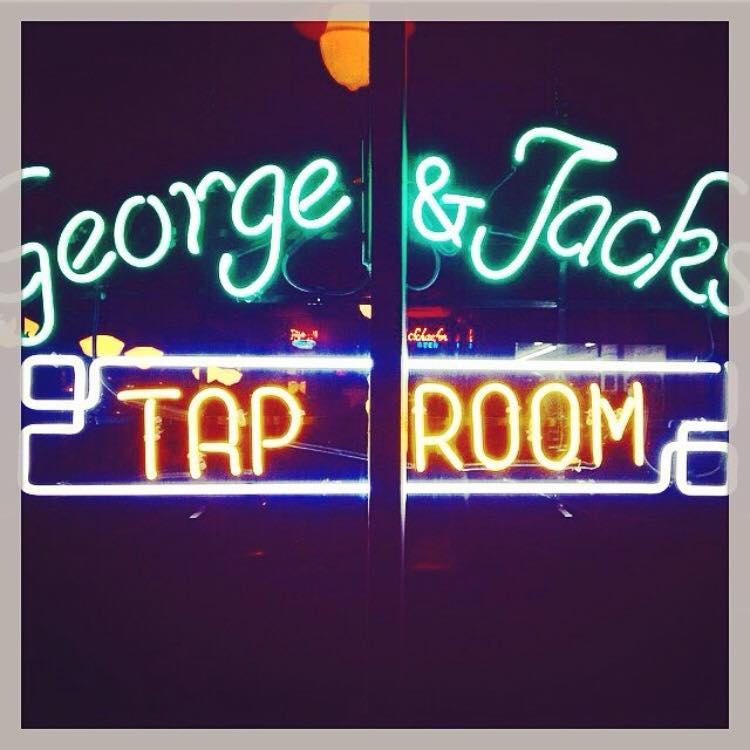 George-Jacks-Tap Room_Sign