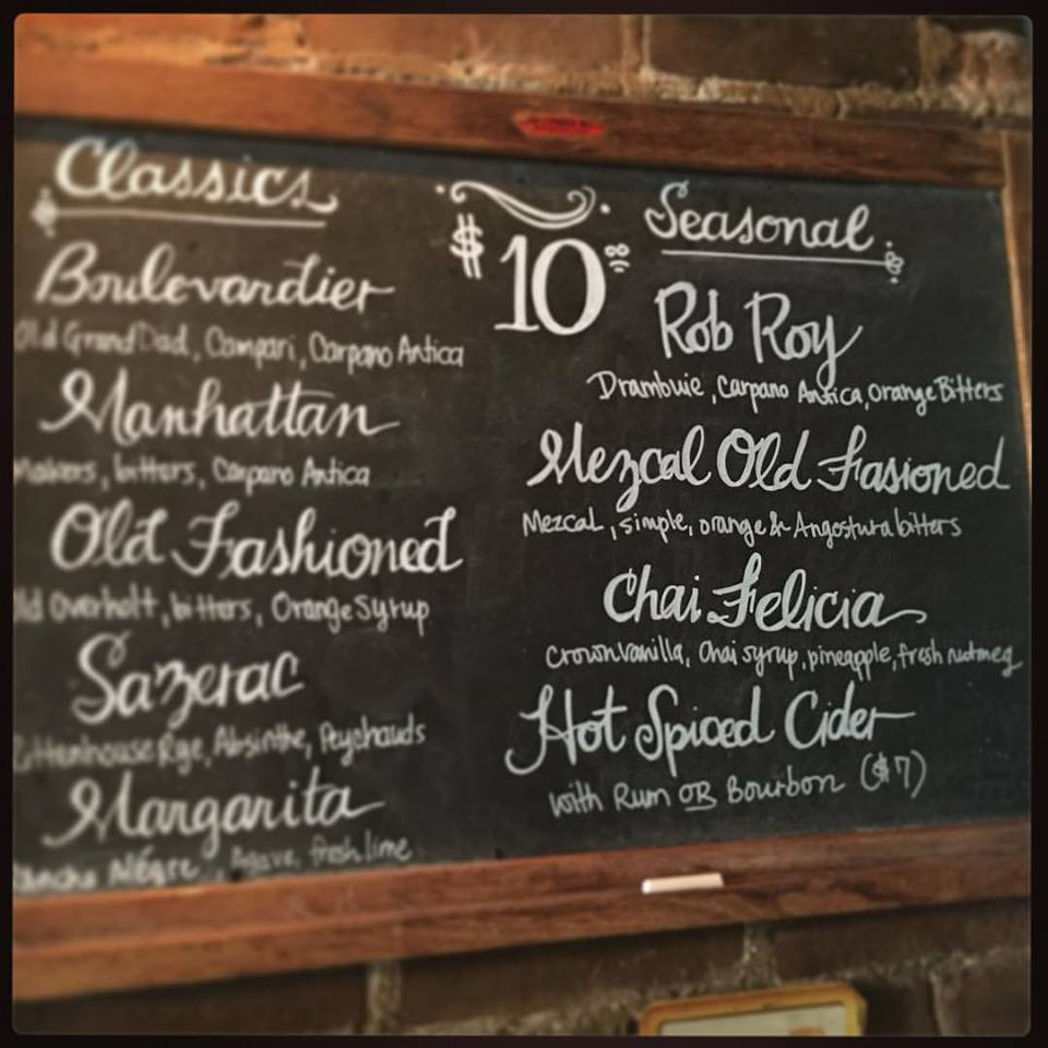 Fall Drink Menu (Photo: George and Jack's Tap Room)