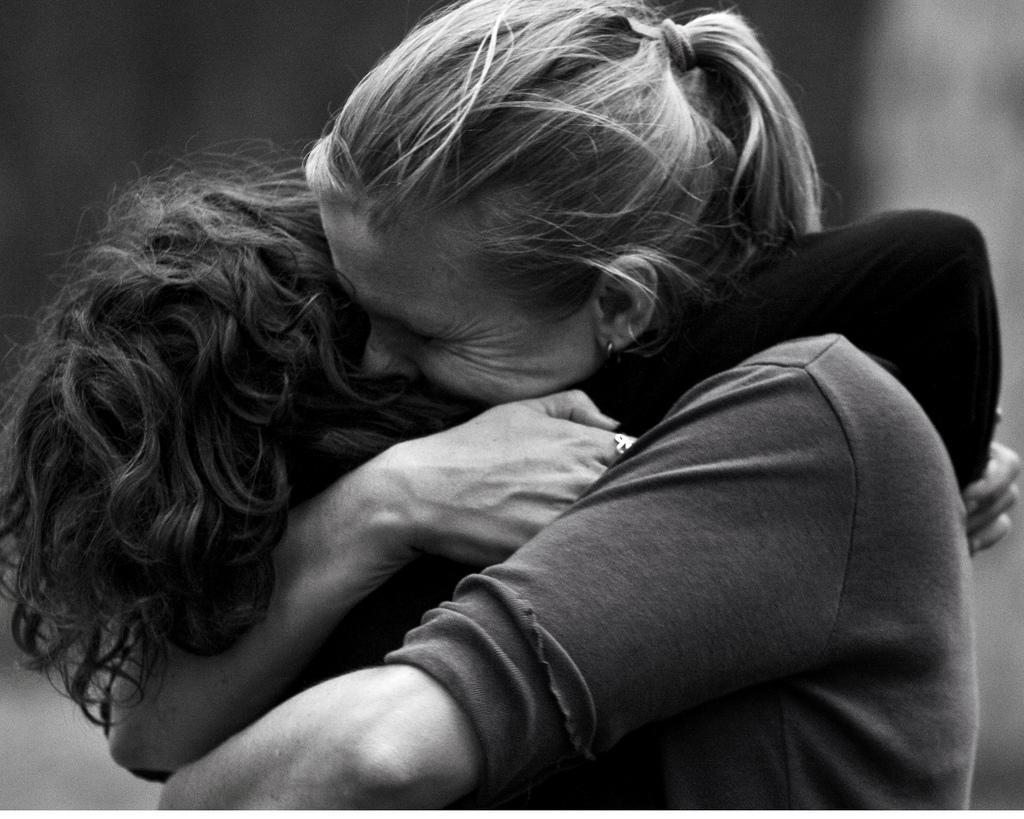 "(Photo: ""Hug by Ally Sanchez)"